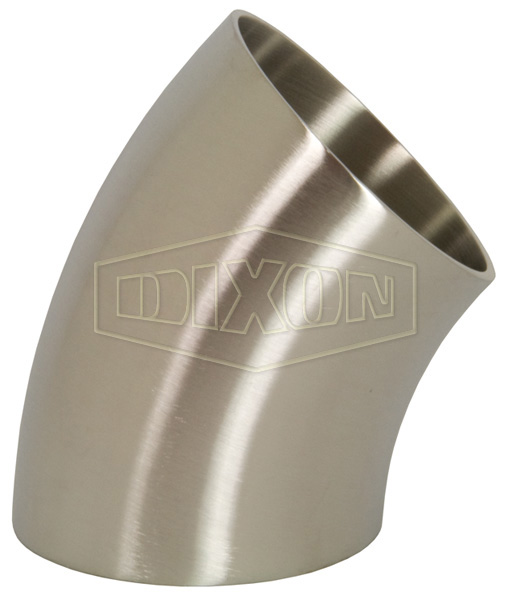 45° UK Dairy Weld Elbow