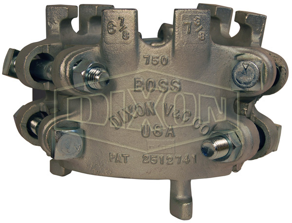 Boss® Clamp 6 Bolt Type, 6 Gripping Fingers