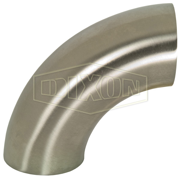 Polished 90° Weld Elbow