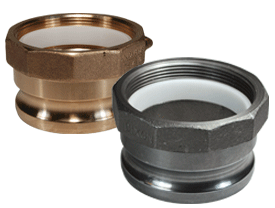 Adapter with Abrasion Resistant Insert