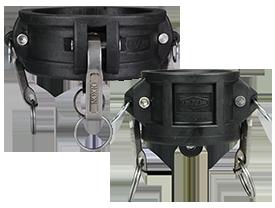 Polypropylene Cam & Groove Type H Dust Cap