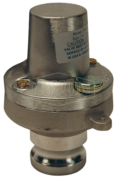 Air Relief Valve Fixed Pressure Cam & Groove