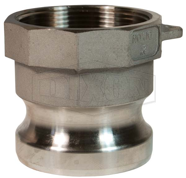 DIN Standard Cam & Groove Type A Adapter x Female Thread