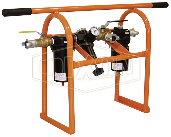 Wilkerson FRL's C31 Combination Unit with Protective Frame