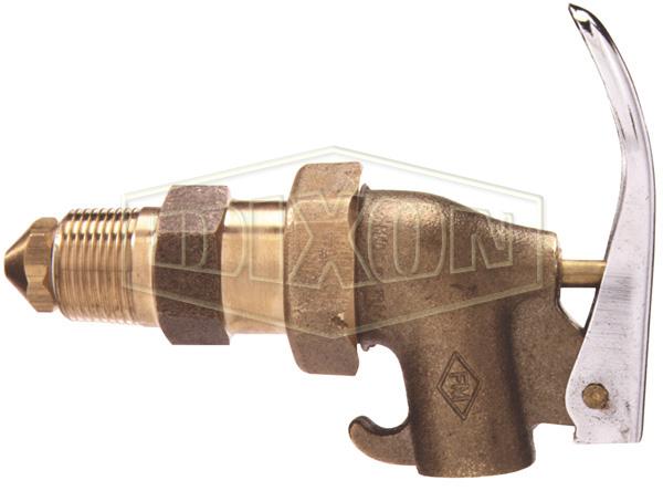 Brass Heavy Duty Adjustable Drum Faucet