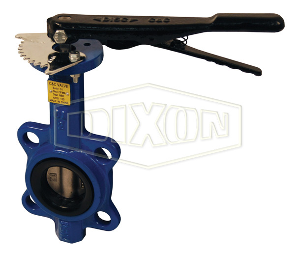 Wafer Style 150lb. Butterfly Valve with Stainless Disc