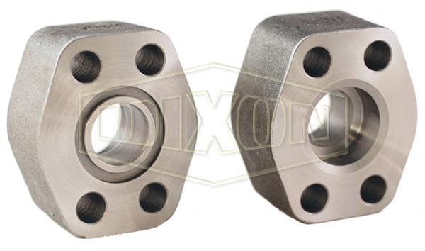 Hydraulic 4-Bolt Flange Pipe Socket Weld