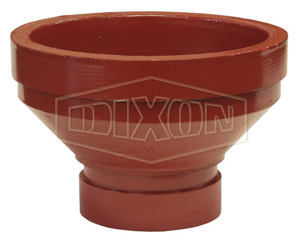 Grooved Reducing Adapter-Series RA