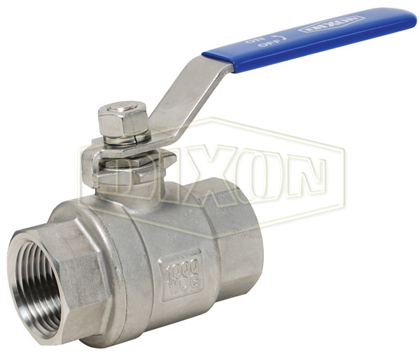 2 Piece Full Bore BSP/NPT Ball Valve