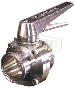 B5107-Series Butterfly Valve with Trigger Handle Clamp End