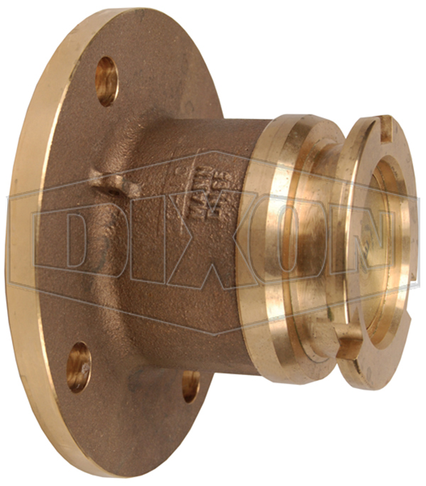 Dixon® Dry Disconnect Adapter Tank Unit x 150# ASA Flange