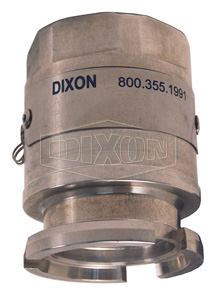 Dixon® Dry Disconnect Adapter Tank Unit x Female NPT