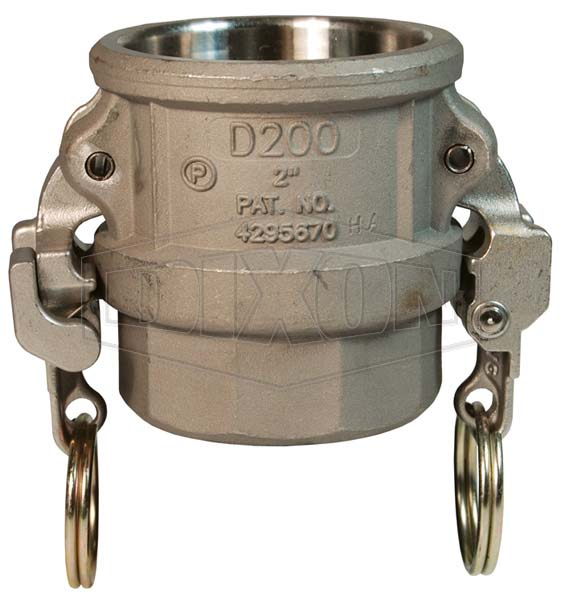 Cam & Groove Hastelloy® Type D Coupler x Female NPT