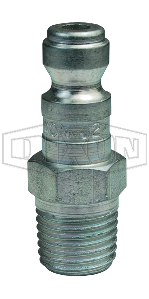 J-Series Automotive Pneumatic Male Threaded Plug