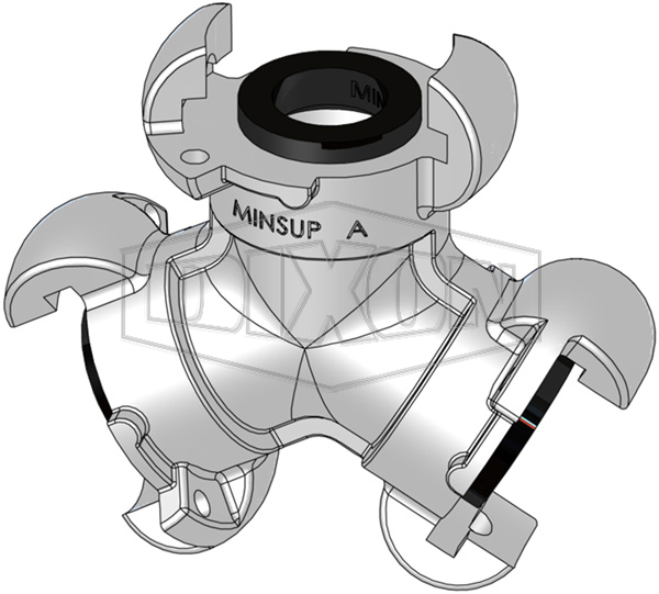 Minsup® A Type Bellows Seal Three Way Connector