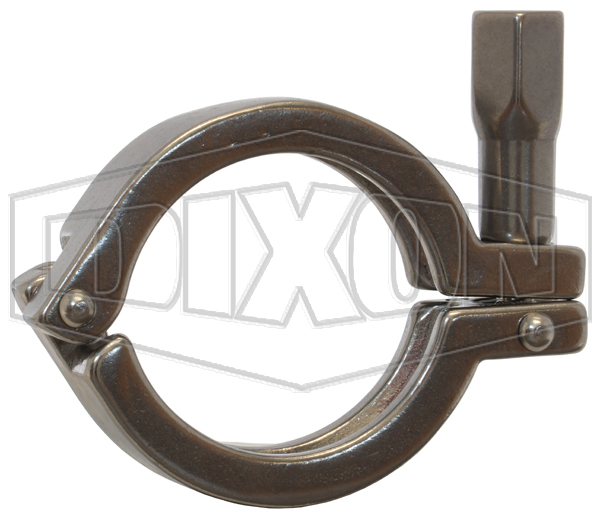 Single Pin Heavy Duty Clamp with Hex Nut