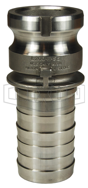 Vent-Lock™ Safety Cam & Groove Type E Adapter